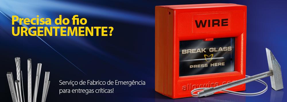 Serviço de fabrico de emergência